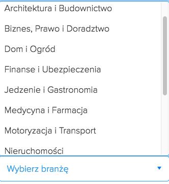 wybor-branzy-szablony-landing-page
