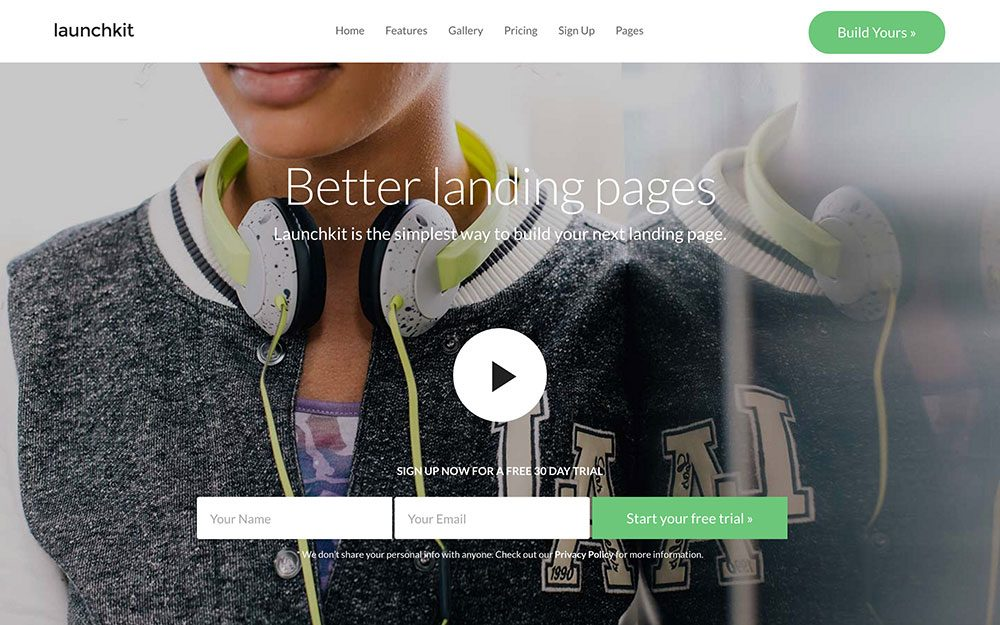landing-page-w-wordpress