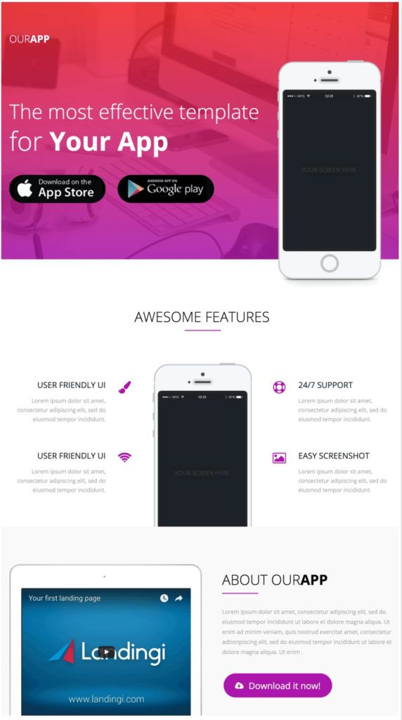 entertainment-landing-page-template-wordpress