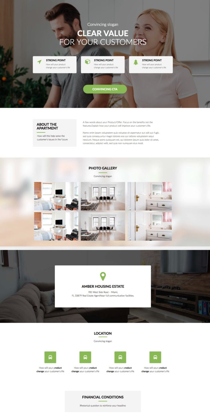 Product Or Service Sales Landing Page Templates Landingi - Sales landing page template