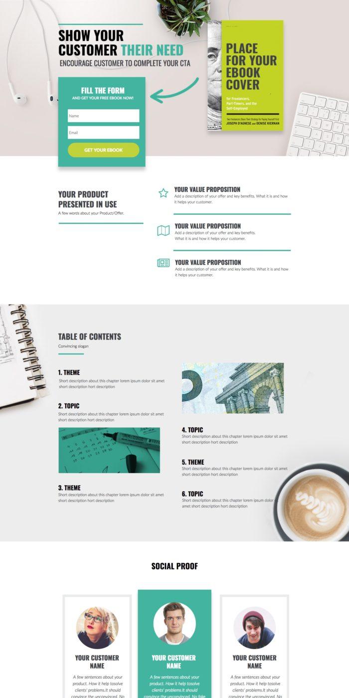 Financial e-book