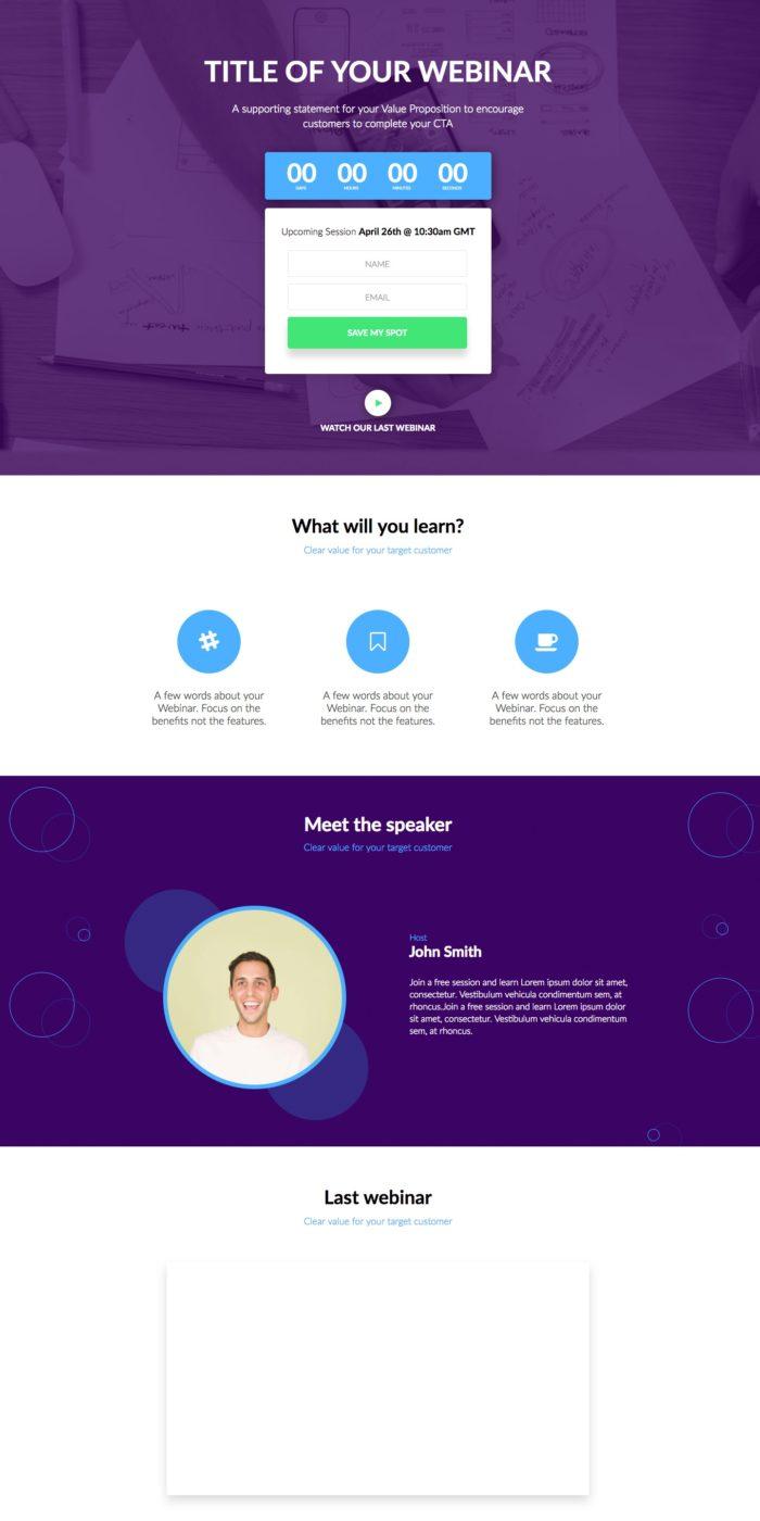 Webinar/Marketing