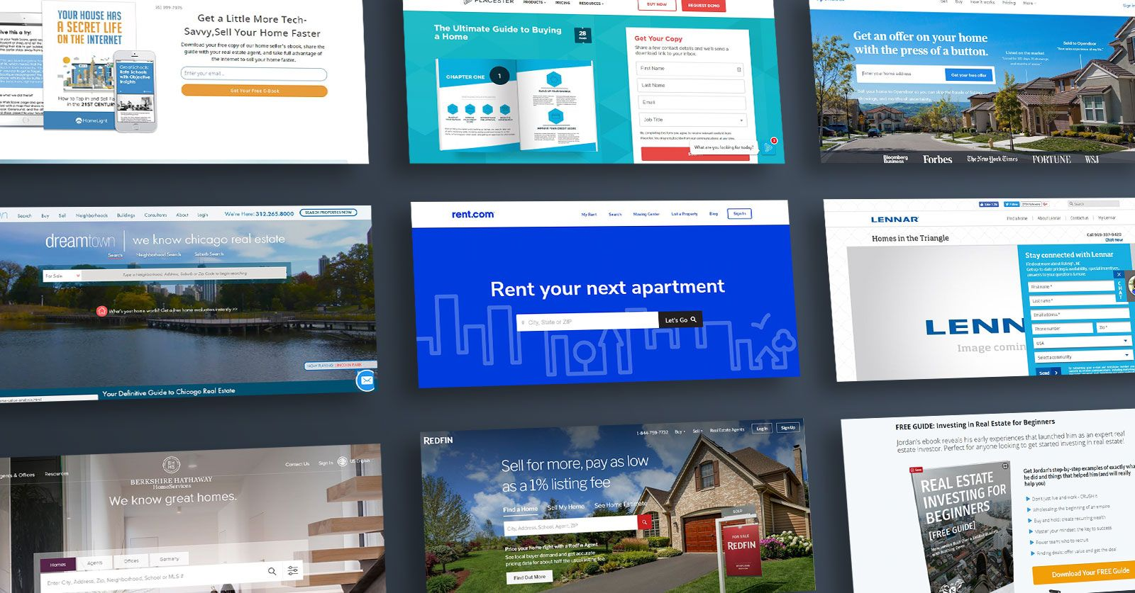 35 Real Estate Landing Page Examples and Ideas to Copy | Landingi