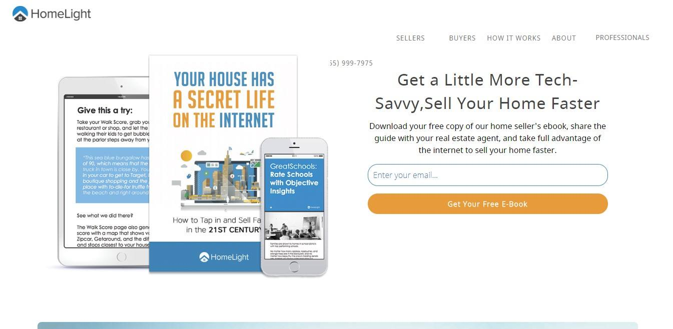 Landing Page Example - HomeLight