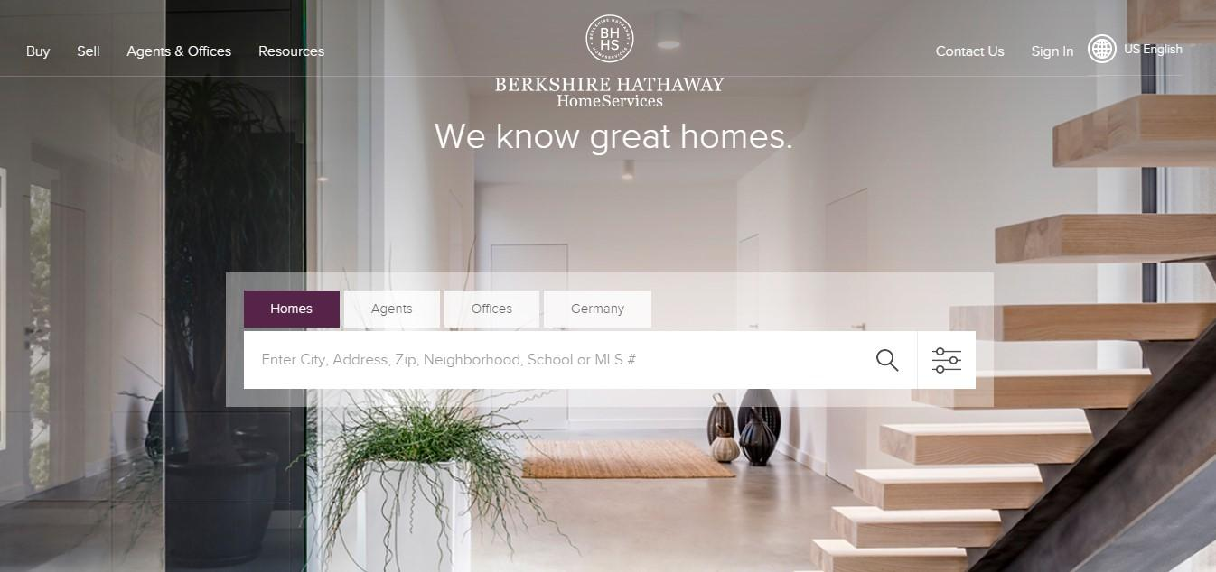 Landing Page Example - Berkshire Hathaway