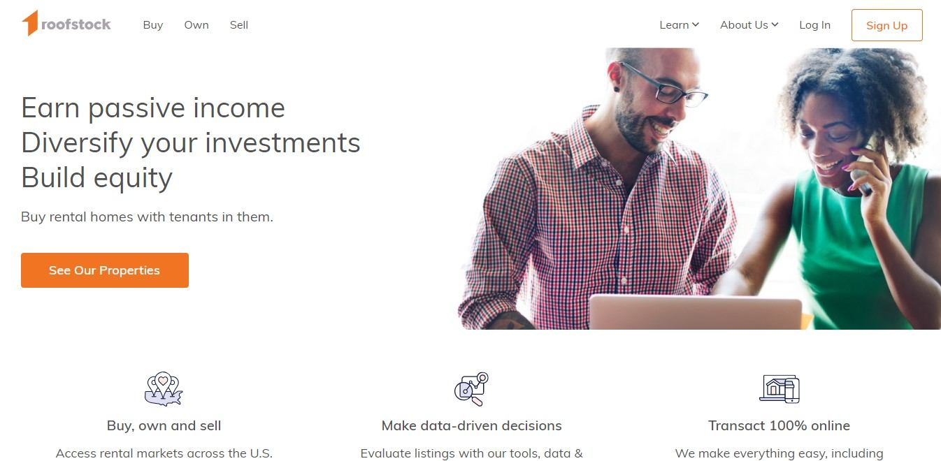 Landing Page Examples - RoofStock