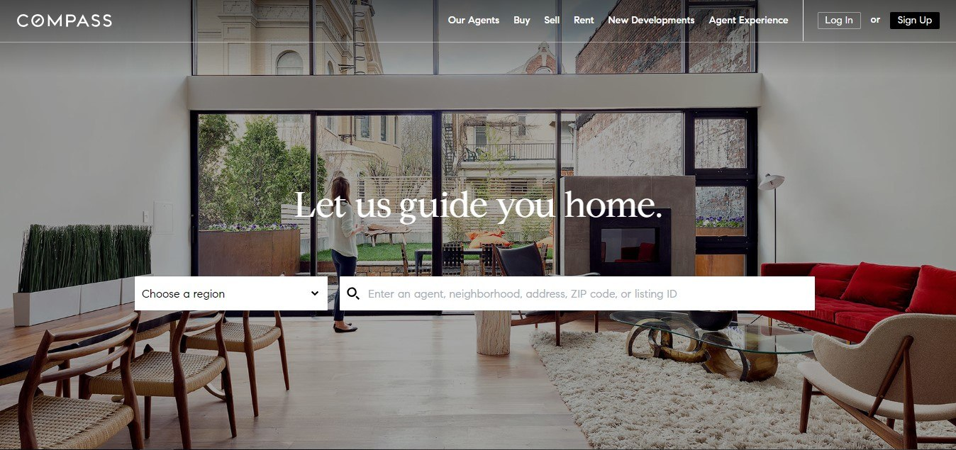 Landing Page Example - Compass