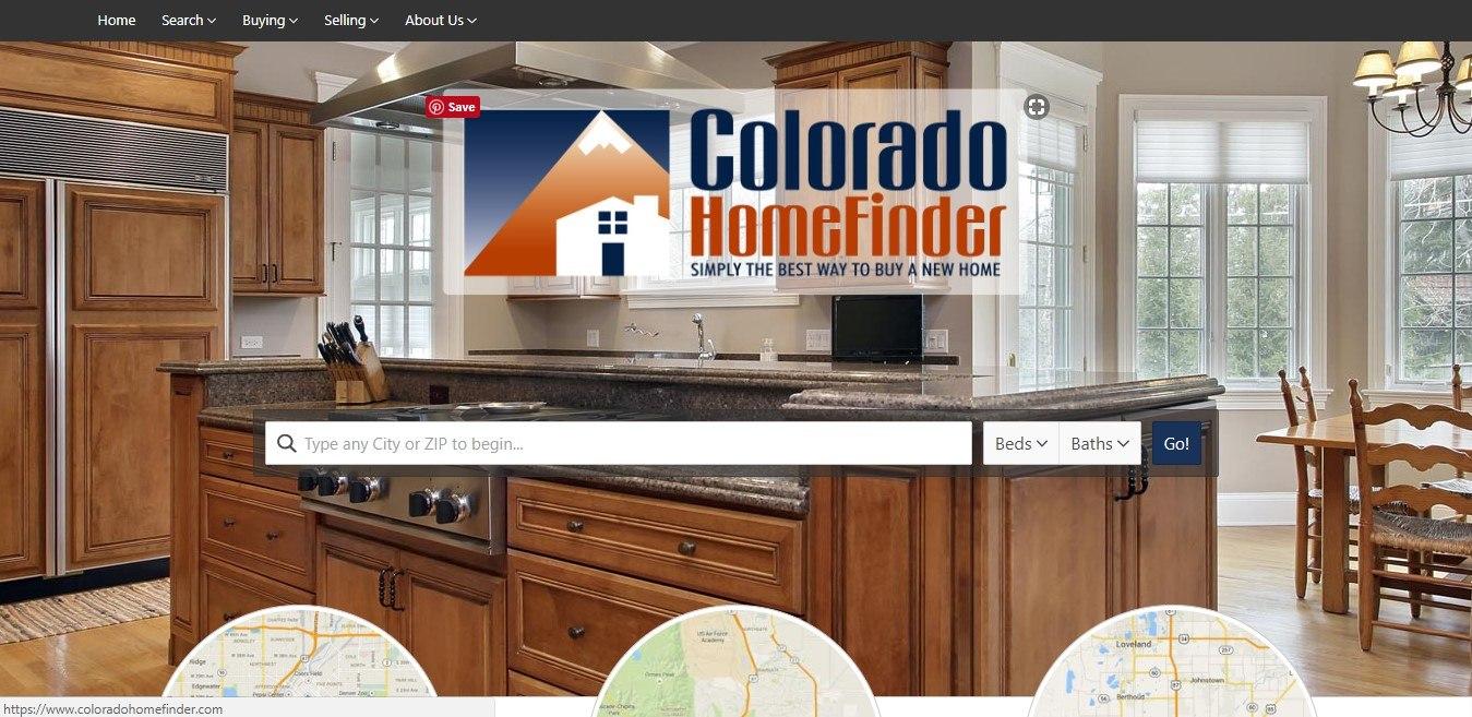 Landing Page Examples - Colorado HomeFinder