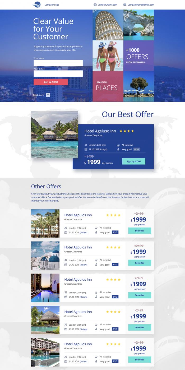 200+ Customizable Landing Page Templates | Landingi