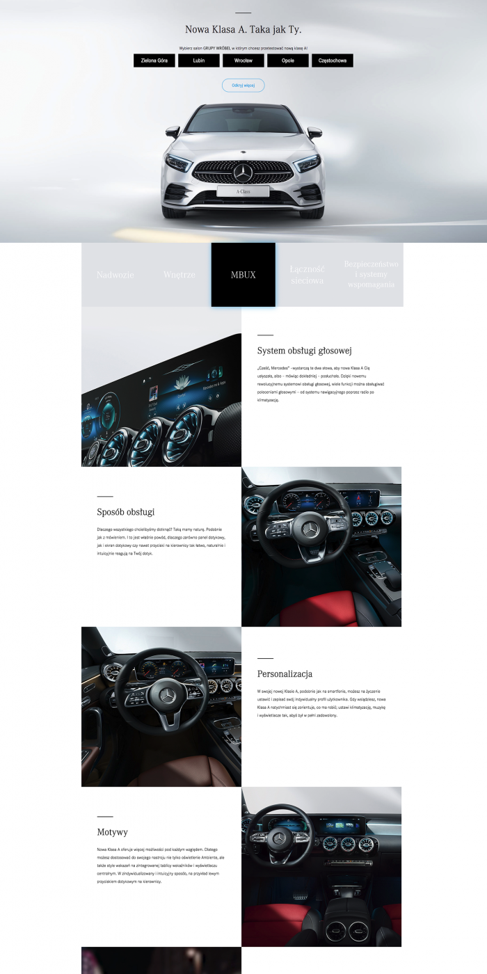 Mercedes Wróbel Group Landing Page