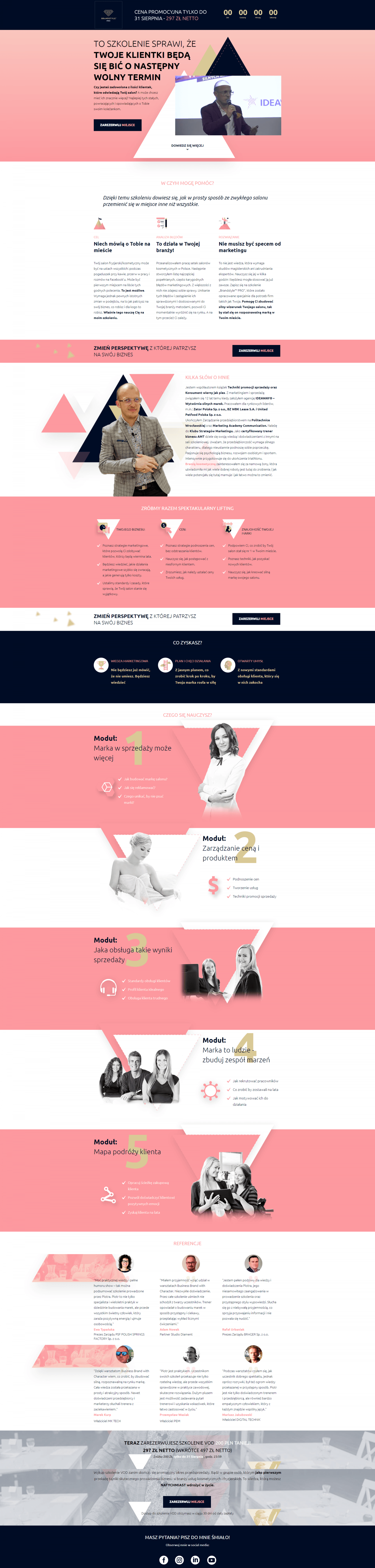 Brandstyle Course Landing Page