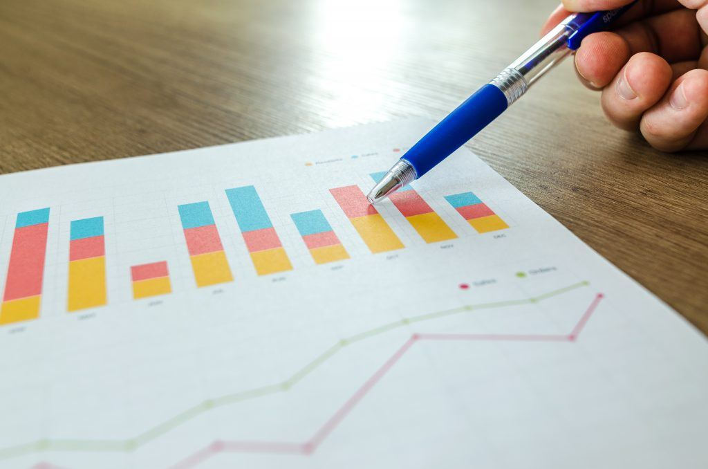 Pre-sale analytics chart