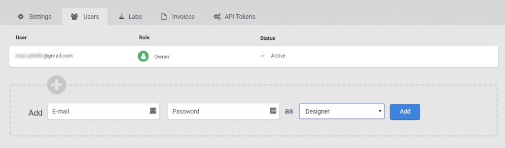 Create users and assign privileges