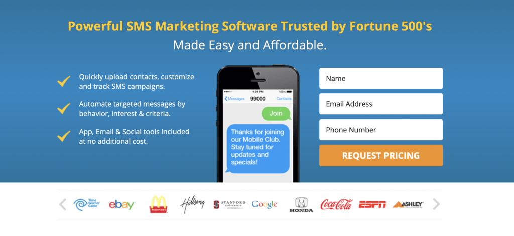 SMS Marketing Banner