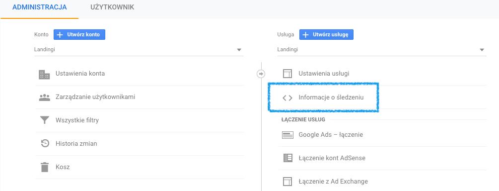 Google Tracking ID