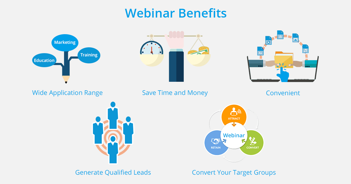 key benefits of webinars