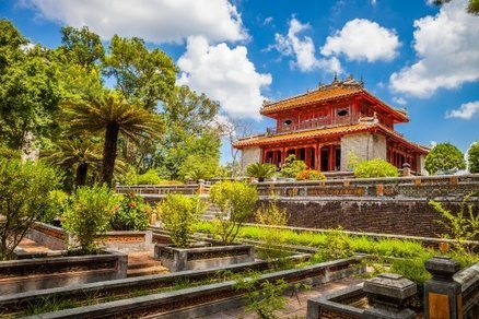 tomba dell'imperatore Khai Dinh