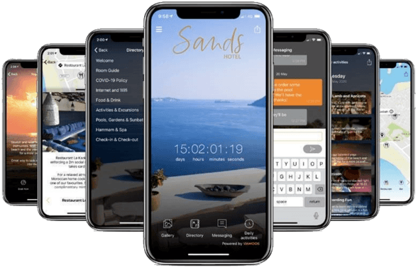 Aplikacja mobilna pensjonat