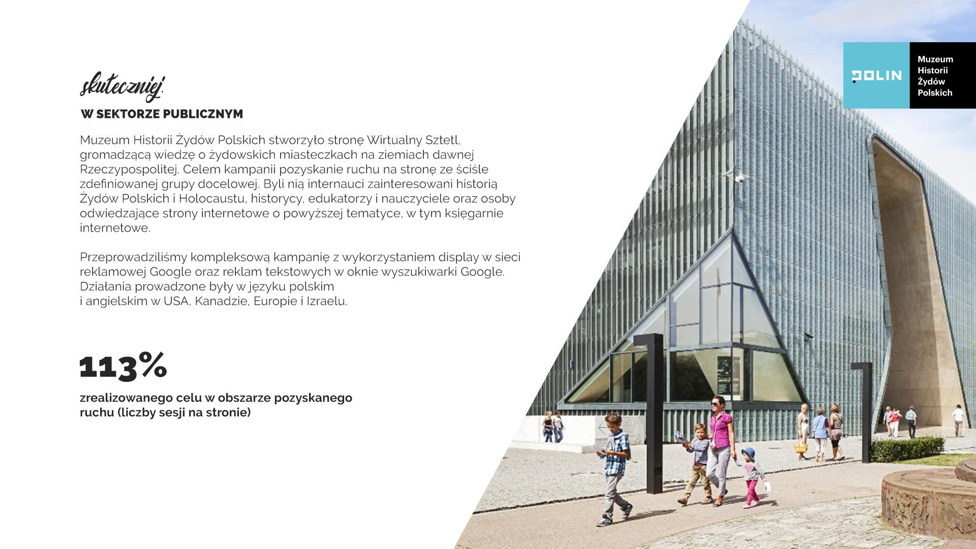 Mastermind case study: Muzeum Polin