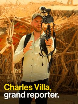 Grand reporter - Charles Villa