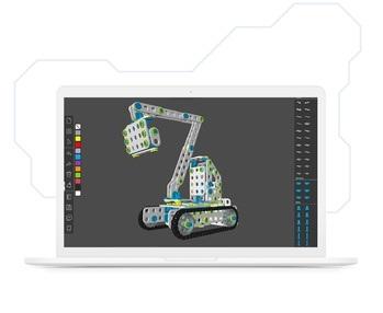 Creator pozwoli Wam stworzyć i wydrukować własne elementy konstrukcyjne.