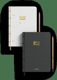 przepiśnik dwie wersje kolorystyczne The bowl book sprzedaż książki kucharskiej