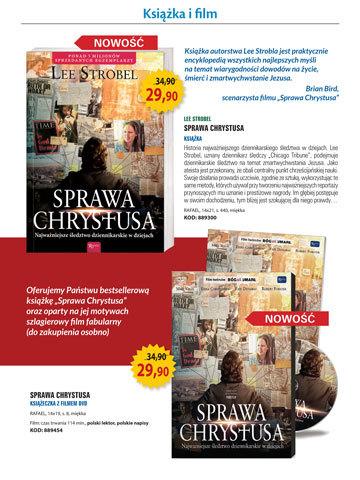 Sprawa Chrystusa - książka i film - Katalog Klubu Książki Katolickiej