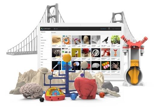 Dzięki Skrimarketowi łatwo wydrukujecie gotowe modele 3D, wybierzcie spośród 20 000 modeli edukacyjnych.