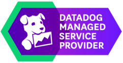 Datadog Partner Network Logo - Managed Service Provider - Datadog: Cloud Monitoring as a Service for Serverless Architecture.