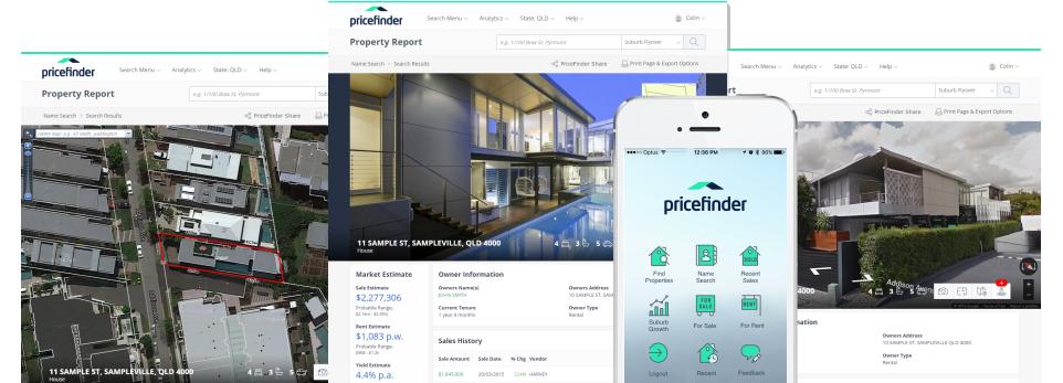 Pricefinder Platforms