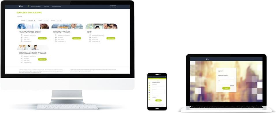 Platforma e-learning do rejestracji szkoleń stacjonarnych - nie można wyświetlić obrazu