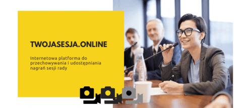 serwis internetowy do przechowywania i udostępniania nagrań sesji rady
