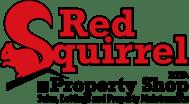 Red Squirrel Property Shop Logo