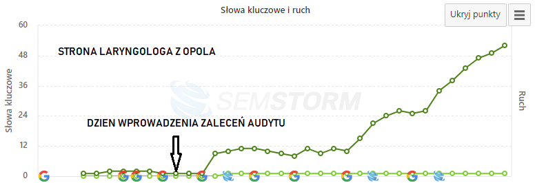 audyt strony internetowej laryngolog Opole