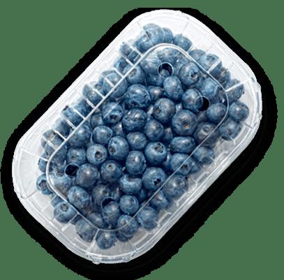 empaque de berries