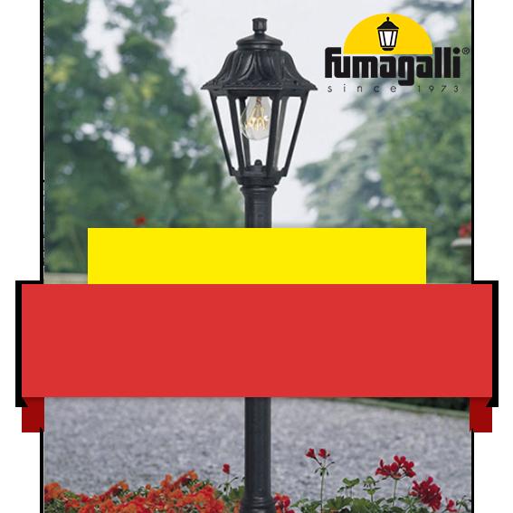 Distribuidor oficial luminaria exterior Fumagalli