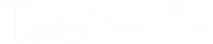 Teaberia tea white logo