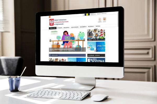 szkoła podstawowa w Fajsławicach realizacja strona internetowa