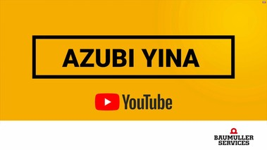 Azubi Yina - Mechantronikerin
