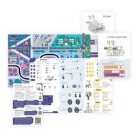 Zajęcia z edukacyjnym laboratorium przyszłości SkriLab są jeszcze ciekawsze dzięki wsparciu mat i kart edukacyjnych.