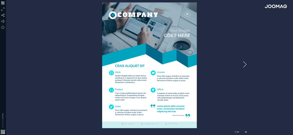 create flyer