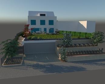 3D Rendering Projekt plan-garten