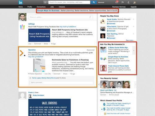 LinkedIn reklamy landing page dobry landing