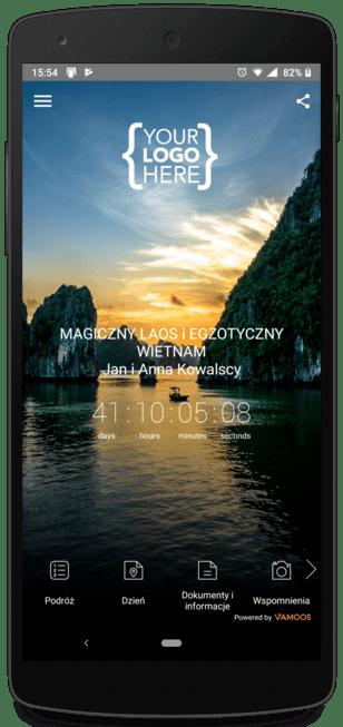 Aplikacja mobilna dla biura podróży