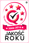 Logotyp Jakośc Roku 2016