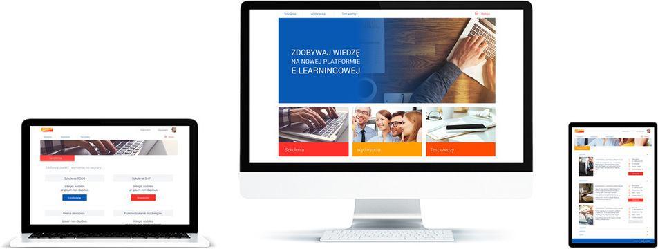 Platforma e-learningowa dla sieci sprzedaży - nie można wyświetlić obrazu
